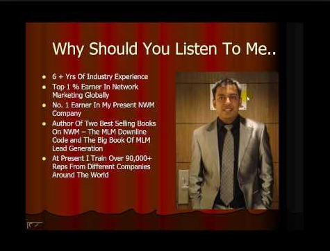 Ankur Agarwal - Network Marketing Tips