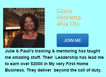 GLORIA: FELLOW ONLINE ENTREPRENEUR