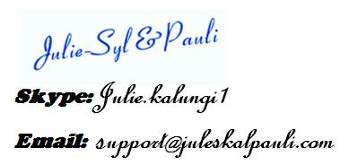 Julie & Pauli Kalungi