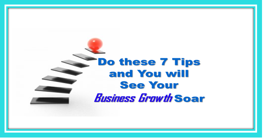 Business Growth in a series of steps