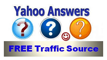 Yahoo Answers a Free Traffic Source