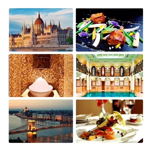 Budapest views & food