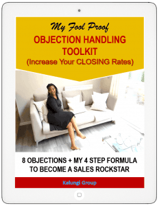 Foolproof OBJECTION HANDLING TOOLKIT
