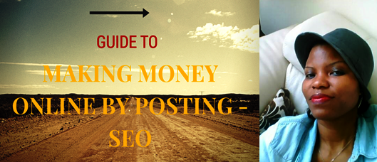 You Can Make Money Online ByY Posting Content and SEO