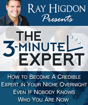 Become a Credible Expert in Your Niche even If Nobody knows you! The 3 Minute Expert!