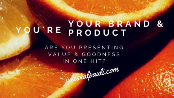 You Are The Brand so you owe it to yor self to stay motivated in your business!