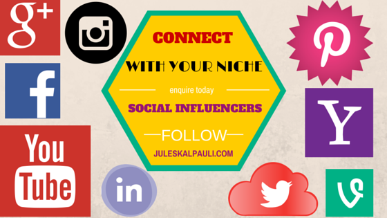 Connect with Social Influencers in Your Niche, a Social Media Optimization Strategy that works!