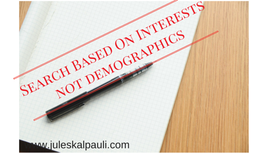 Define and target your audience based on Interests!
