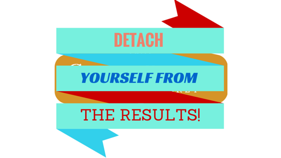 Detatching yourself form the end result Is a great way t get out of a Business Rut. Frees you to look at what can be done NOW!