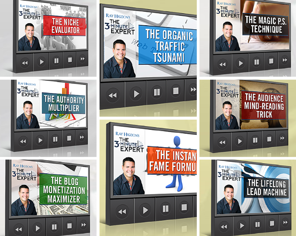 Ultimate Blogging Bundle - The 3-Minute Expert by Ray Higdon