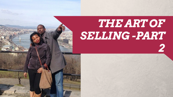 The Art of Selling in 5 Super Hot Tips!