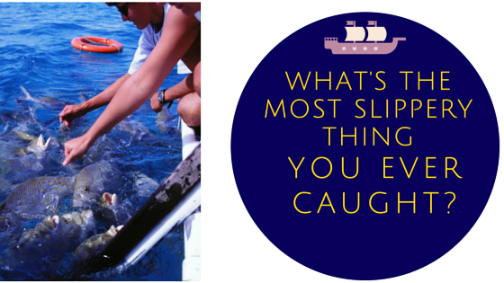 Whats the most Slippery Thing you Ever Caught…?