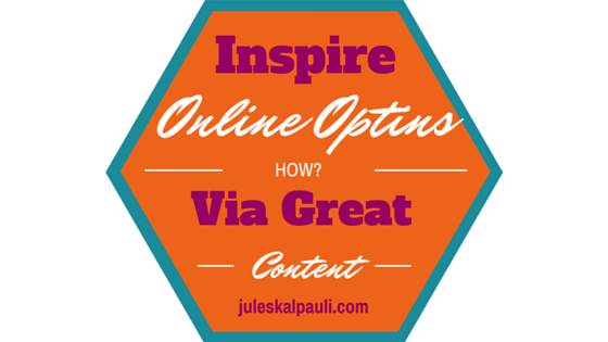 To Build responsive Email Lists, Inspire Others to Optin!