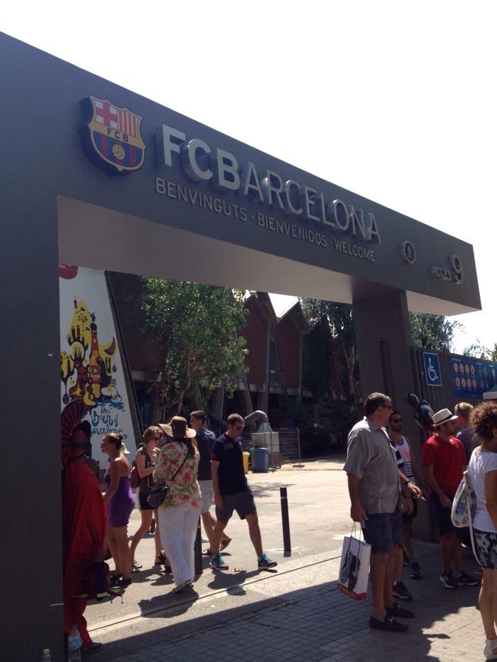 Home of Barcelona FC not to be missed by Footie Fans!