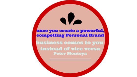 Personal Branding in your niche brings you the right custom!
