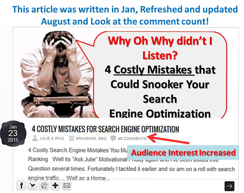 Dominate Article Marketing, Care for your Posts!