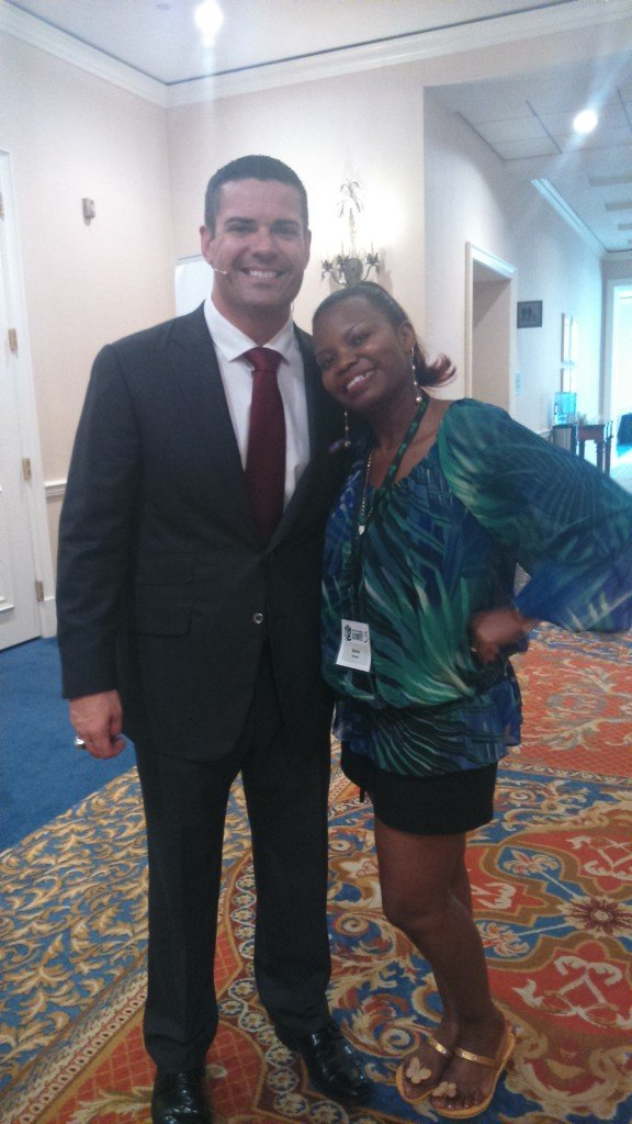 Personal Branding Rockstar Ray Higdon and I! Its the way to go!
