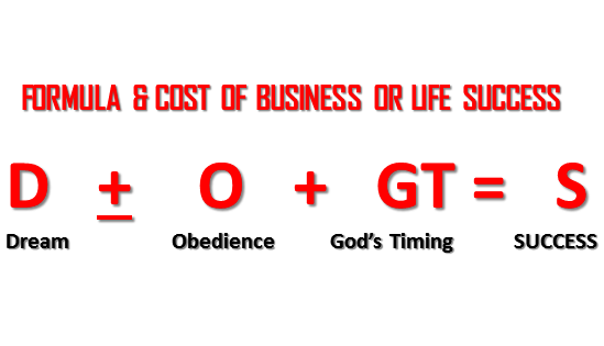 The Cost of Business Is also The Success Formula is