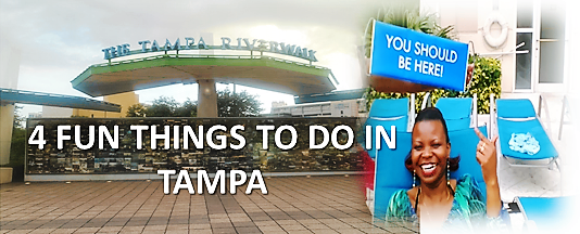 We give you 4 Fun Things to do in Tampa FL if youb had a weekend or more time there!