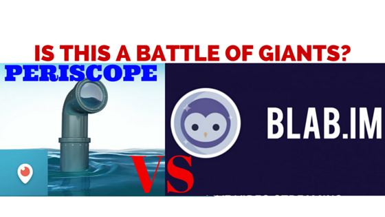 Periscope VS BLAB - Battle of the Broadcasters!