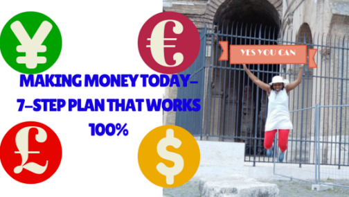 mAKING mONEY TAKES SUPER DEDICATION. WE GIVE YOU A 7-STEP PLAN!