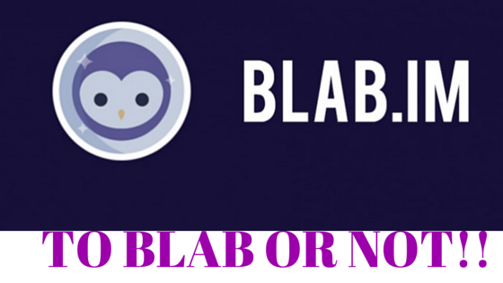 Periscope VS BLAB - Battle of the Broadcasters- I Prefer Blab!