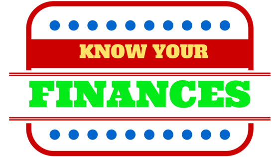 DO YOU YOUR FINANCES? MAKING MONEY COULD GET TRICKY IF YOU DONT. LEARN WHY!