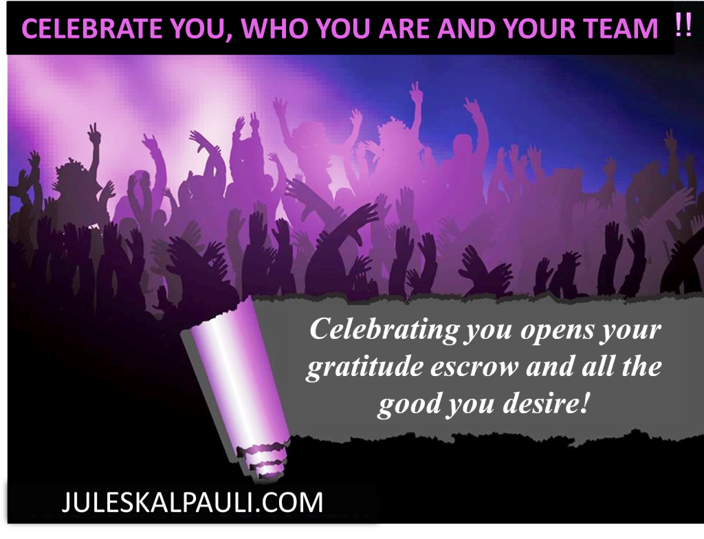 Celebrate You by Connecting with tjhe right People who Celebrate Your Life!