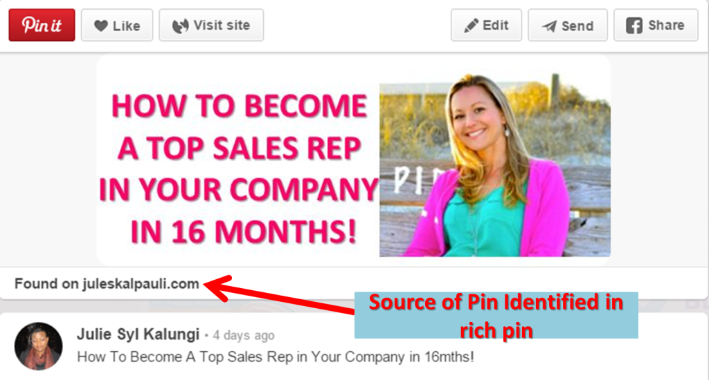 9 Easy Steps to ROCKING Your Pinterest for Business! - Use Rich Pins!