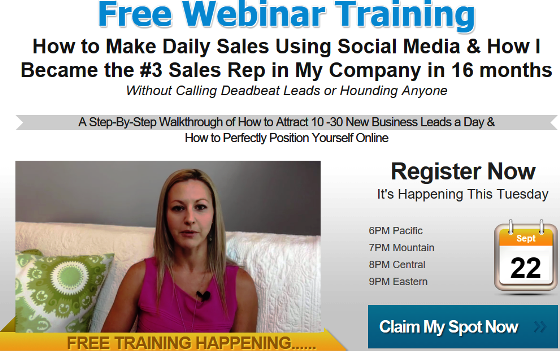 Become a Top Sales Rep in Your Company - Training with Tanya Aliza!