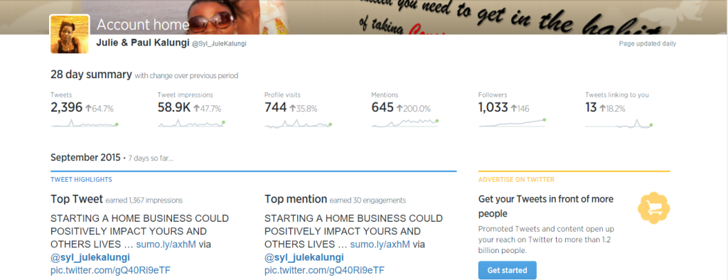 11 Reasons you're Not Getting Website Traffic or Making Money –TWITTER ADS