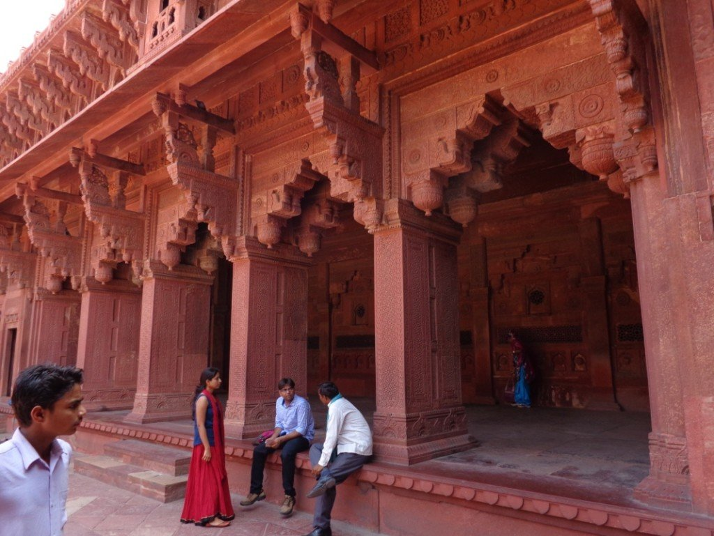 My View of the finest examples of the Mughal Era Monuments in Agra! #mughalmonuments #dreamtrips #WorldVentures