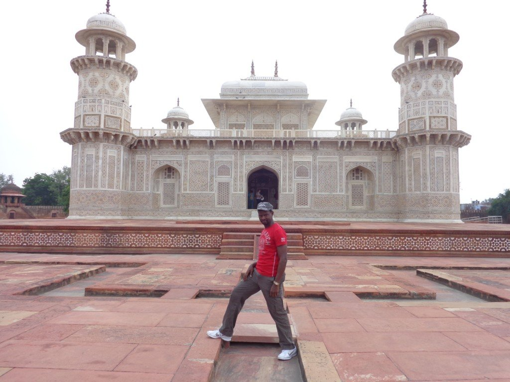 My View of the finest examples of the Mughal Era Monuments in Agra! #mughalmonuments #dreamtrips #JamaMasjid
