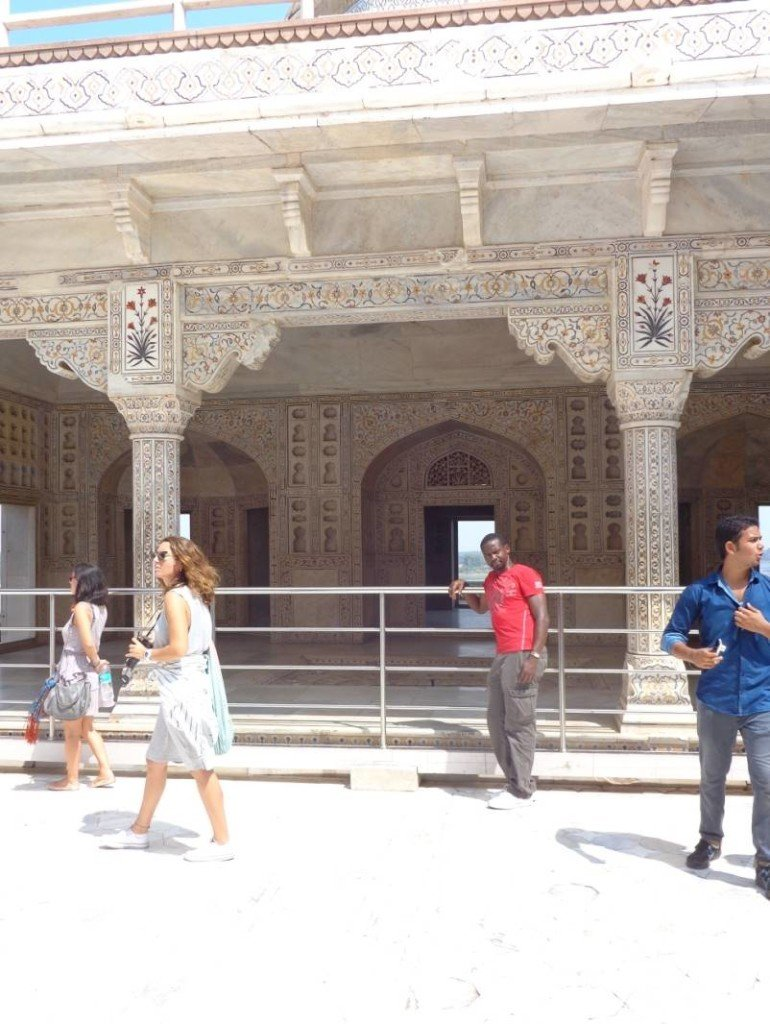 My View of the finest examples of the Mughal Era Monuments in Agra! #mughalmonuments #dreamtrips #Akbari-mahal3