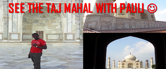 Pauli in India – Part 1 - Visit to the Taj Mahal! #TAJMAHAL #YSBH #INDIATRAVEL
