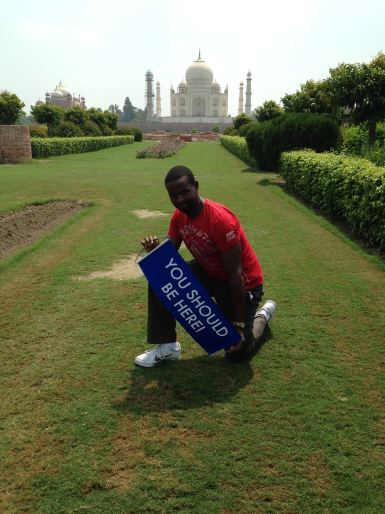 Paul at The Taj Mahal, You really Should Be Here! #ysbh #youshouldbehere #roviatravel