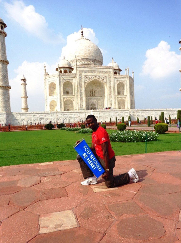 Paul_the_Taj Mahal