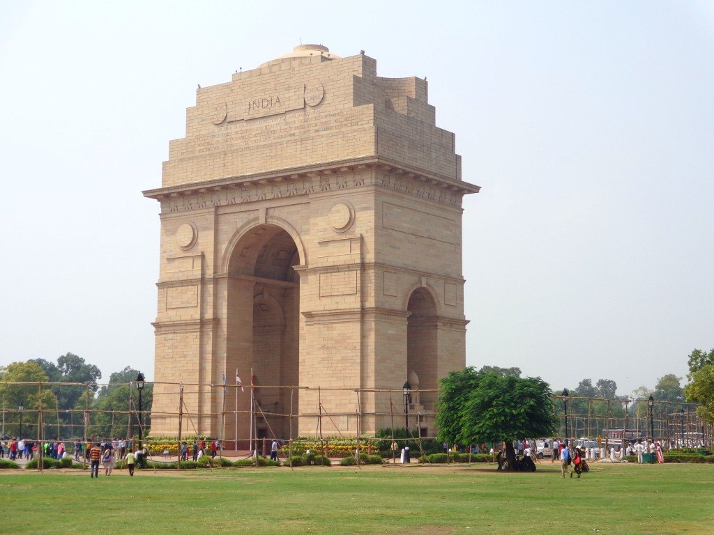 One of the most popular places to visit in New Delhi - The India Gate! #visitnewdelhi