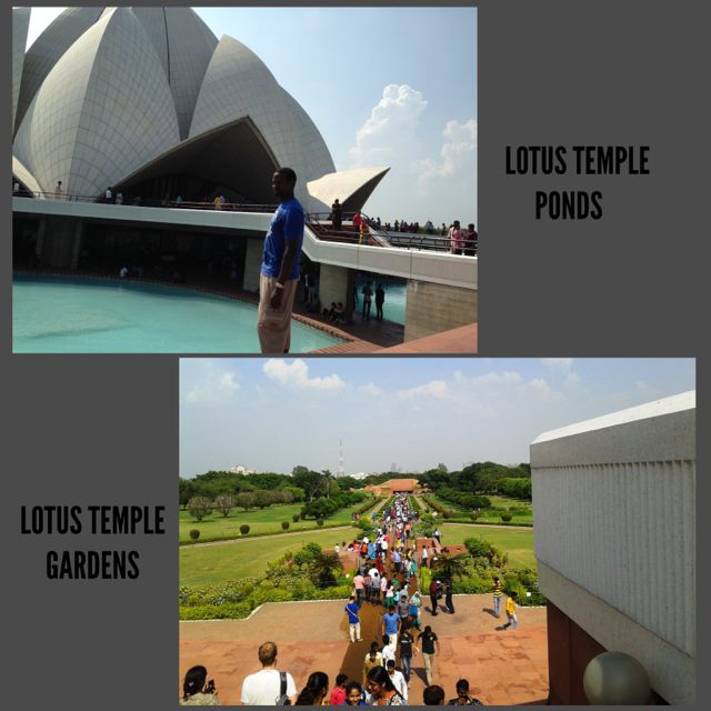 One of the most popular places to visit in New Delhi - The Lotus Temple! #dreamtrips