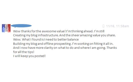Testimonial from a happy Customer! #servantleader