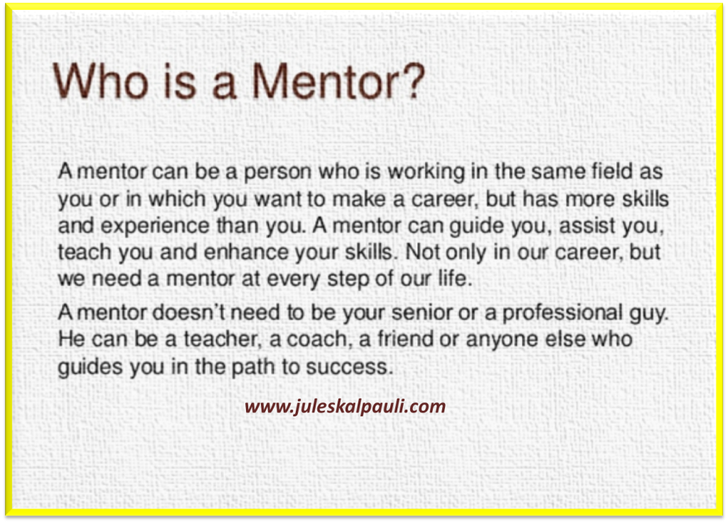 Who is and How to find A Mentor! #leadershiptraining
