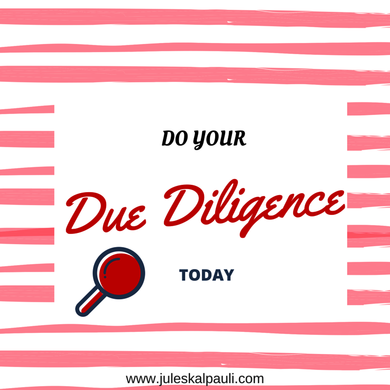 Dont make this mistake starting a home based business! #duediligence
