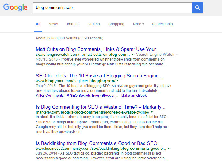 Blog comments and seo - It works with Patience! #blogseo