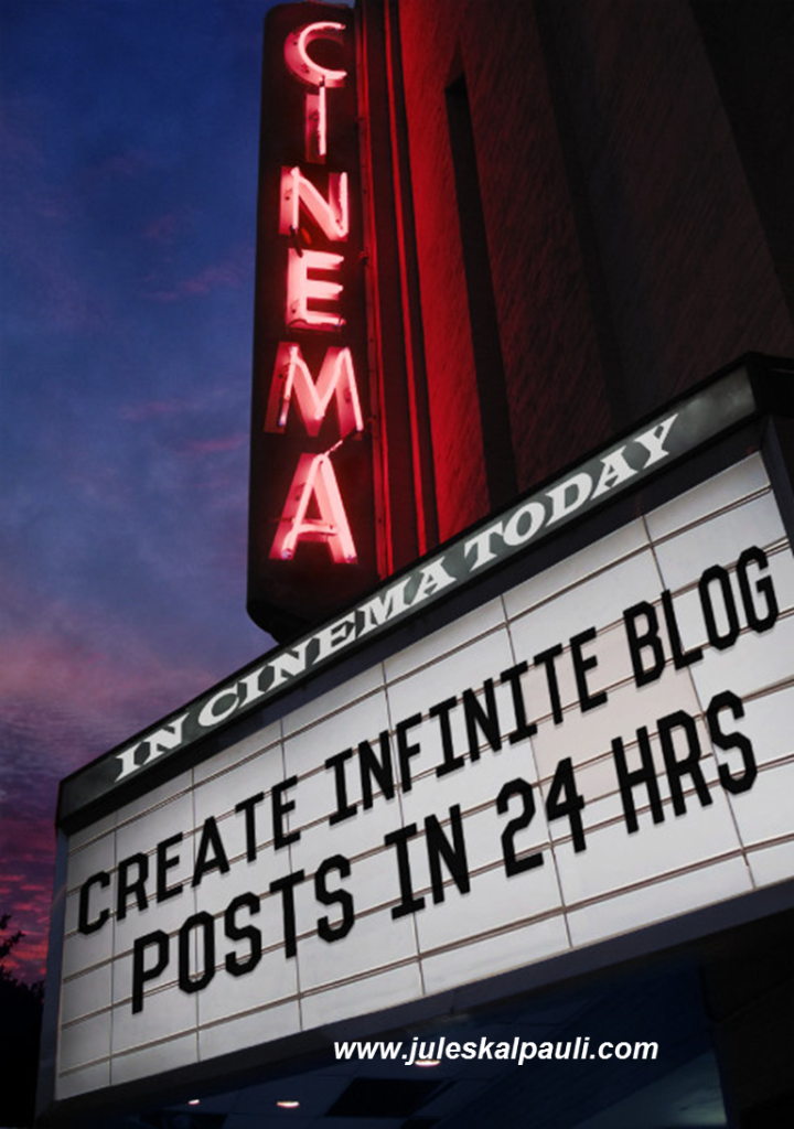 You can Create Infinite Blog Posts in 24 Hours, here is how! #contentcreation