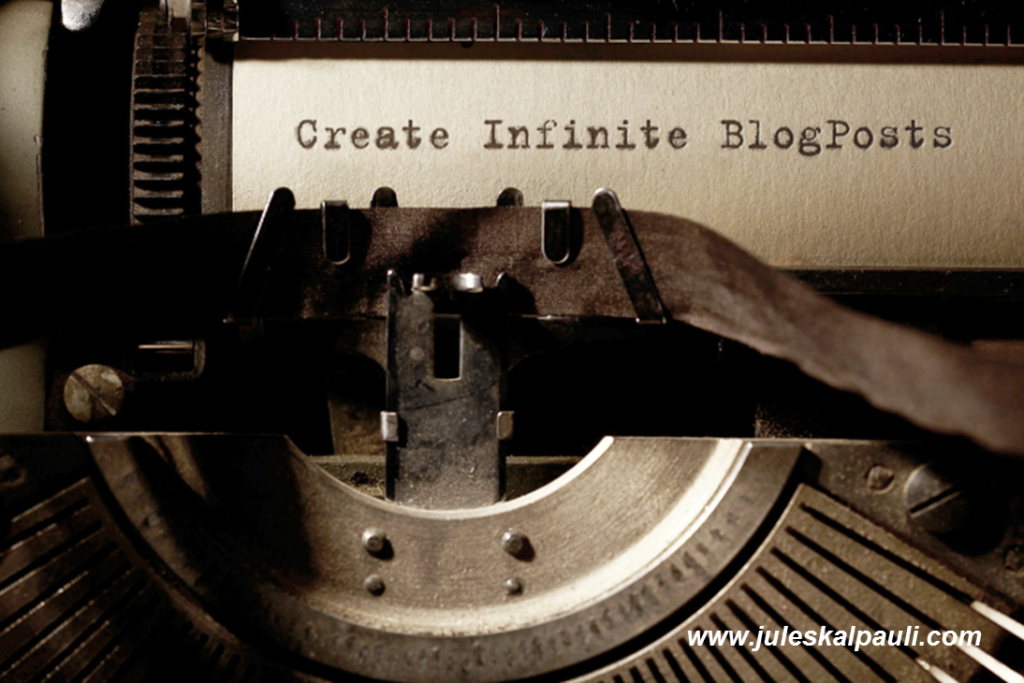 Learn how we create infinite blog posts super fast! #blogcreation