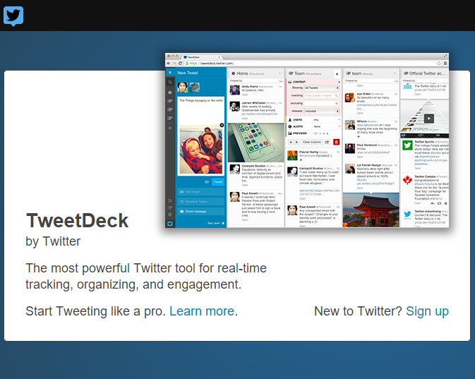 Social Media Productivity via Twitter Deck! #twittermarketing #motivationalMonday