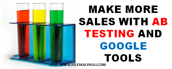 5 Steps to More Sales By Split testing or Ab Testing!