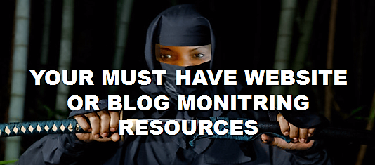 Our Blog Monitoring Resources and Tools! #websitemonitoring