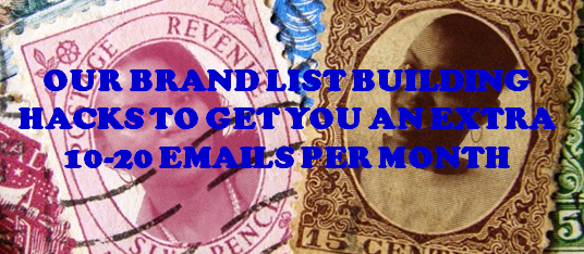 Our Top #Brand #ListBuilding Hacks and Turning Nays into Yes! #emailmarketing #list building
