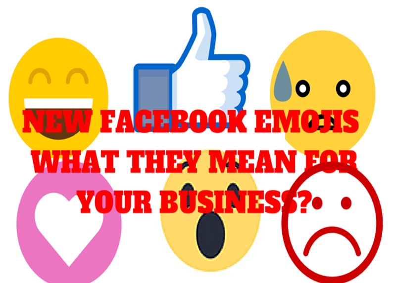 New Facebook Reactions or Emoticons & Business! #facebookmarketing